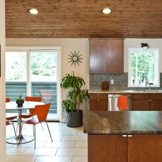 Midcentury Kitchen by Cablik Enterprises