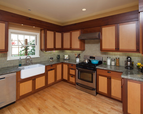 kitchen sink with backsplash best redwood cabinets design ideas amp remodel pictures houzz 6039