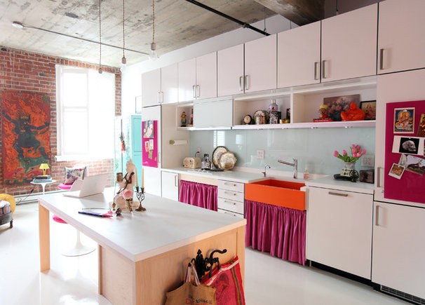 Eclectic Kitchen by The Cross Interior Design