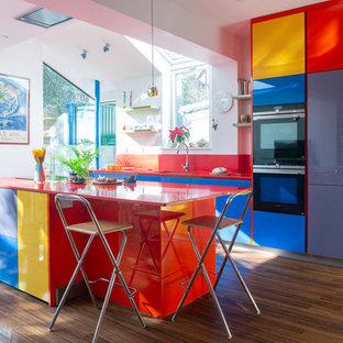Rainbow Modern Kitchen