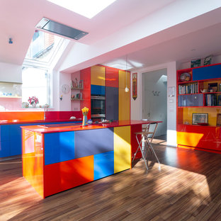 Rainbow Modern Kitchen