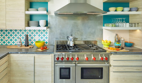Tour a Designer's Colorful Kitchen and Get Tips for Picking Paint