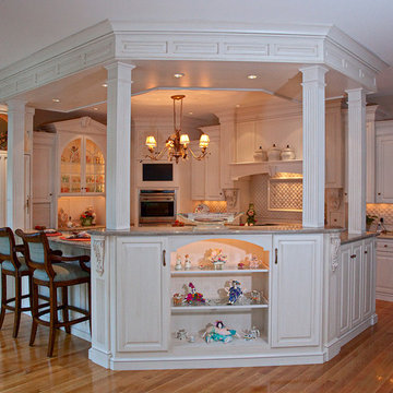 raised panel kitchen cabinetry