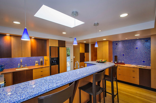 Contemporary Kitchen by Dennis Mayer, Photographer