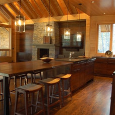 kitchen islands and kitchen carts by Architectural Woodcraft, Inc