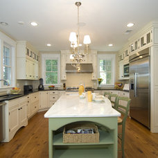Traditional Kitchen by Moser Architects, PLLC