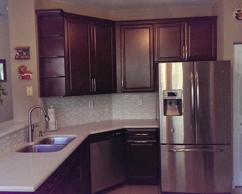purple kitchen design ideas renovations photos with