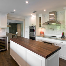 Transitional Kitchen by HB Construction, LLC