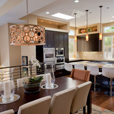 Contemporary Kitchen by Kelly Smiar Interior Design