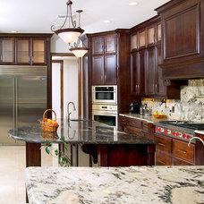 Mediterranean Kitchen by Ramos Design Build Corporation - Tampa