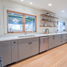 Midcentury Kitchen by Encircle Design and Build