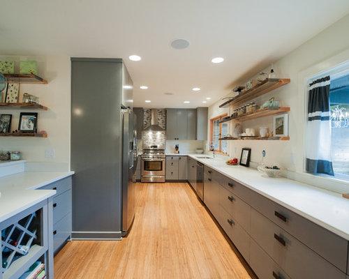 Fotos de cocinas dise os de cocinas con salpicadero de - Tamano azulejos cocina ...