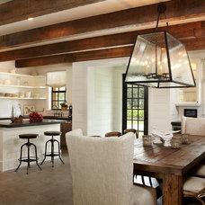 Rustic Kitchen by Giana Allen Design LLC