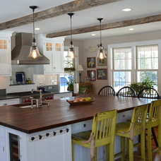 Farmhouse Kitchen by The Cabinetworks