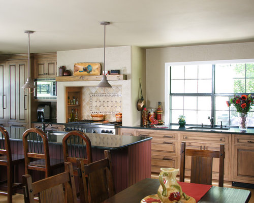 Ranch style kitchen home design ideas pictures remodel for Ranch style kitchen