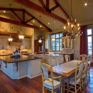 Open Concept Ranch Home | Houzz on open modern house interior, open ranch house plans, open ranch home,