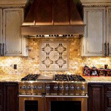 Rustic Kitchen by Sweetlake Interior Design LLC