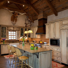 Rustic Kitchen by Rachel Mast Design