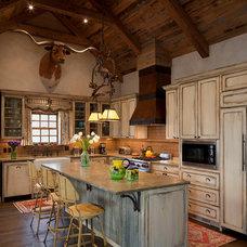 Traditional Kitchen by Rachel Mast Design