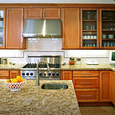 Transitional Kitchen by Morey Remodeling Group