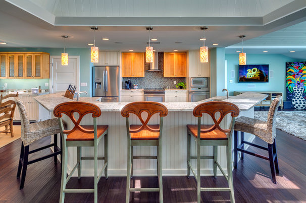 Contemporary Kitchen by Bud Dietrich, AIA