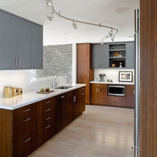 Contemporary Kitchen by Koch Architects, Inc.  Joanne Koch