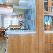 Transitional Kitchen by Studio G+S Architects