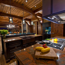 Rustic Kitchen by Mitchell Brock