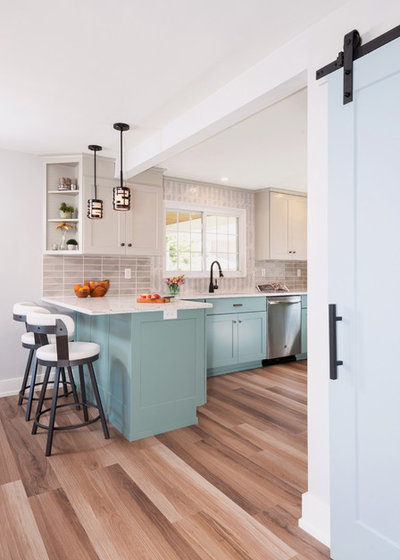 Transitional Kitchen by You-Neek Designs