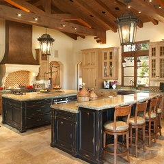 mediterranean kitchen by Studio Stratton Inc