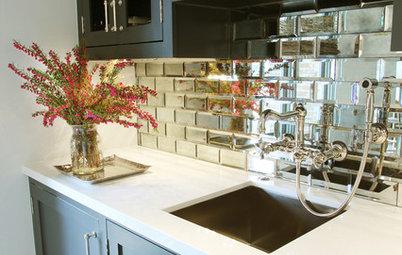 Gör köket dubbelt så stort med speglar