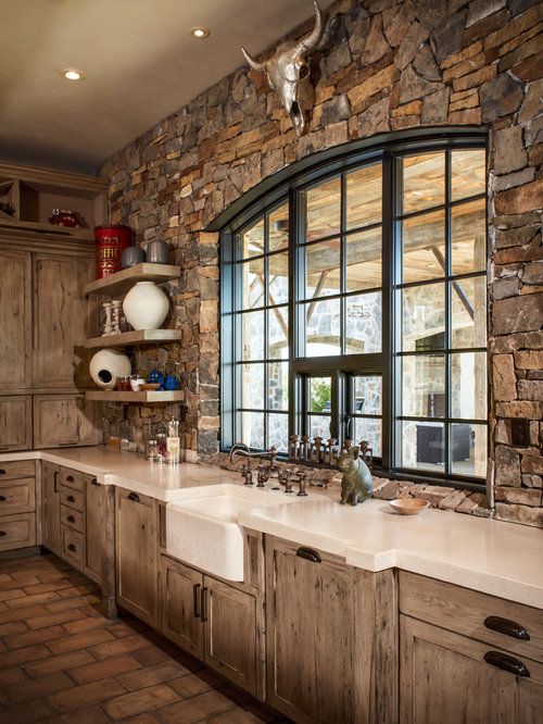 Rustic Houston Kitchen Design Ideas Remodel Pictures Houzz