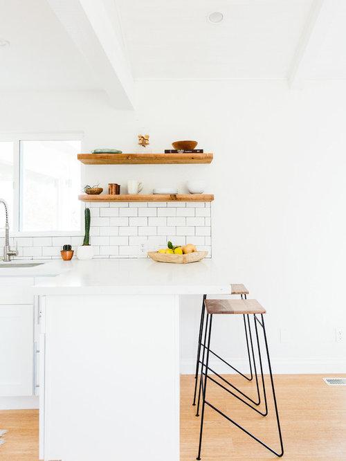 skandinavische k chen mit bambusparkett ideen design. Black Bedroom Furniture Sets. Home Design Ideas