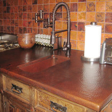 Traditional Kitchen by Sierra Copper