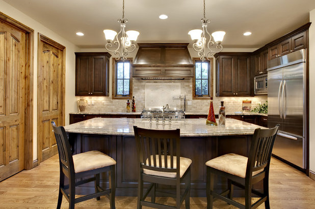 American Traditional Kitchen by Dreamcatcher Remodeling