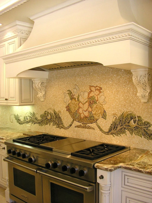Native American Tile Mural | Houzz