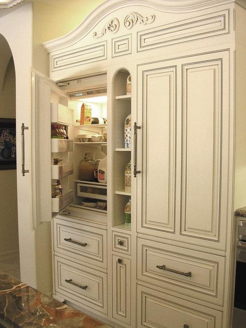 Cabinet Style Refrigerator Doors | Houzz