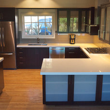 Contemporary Kitchen by L L P Construction