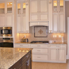 Traditional Kitchen by V.I.P. Kitchens, LLC.