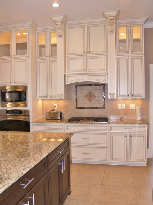 fleur de lis backsplash home design ideas  pictures