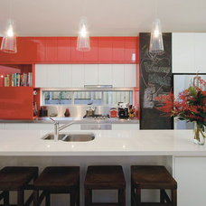 Contemporary Kitchen by Kristie Paul