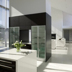 contemporary kitchen by Randy Brown