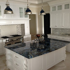 Traditional Kitchen by Eurostar Marble and Granite Inc