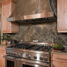 Transitional Kitchen by CUSTOM DESIGN CONSTRUCTION