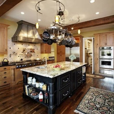 Traditional Kitchen by COPPER TECH CONSTRUCTION, INC.