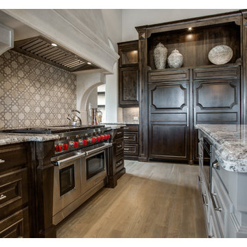 Range Hoods Cast Stone Project with DeLeo Fletcher Design