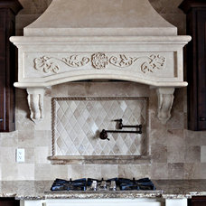 Traditional Kitchen by Stone Mountain Castings & Design
