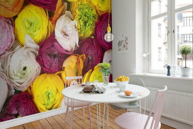 Eklektisch Küche by Rebel Walls
