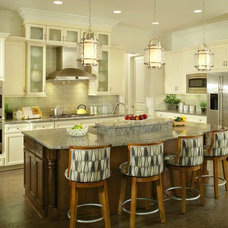 Tropical Kitchen by Arthur Rutenberg Homes at Ravello