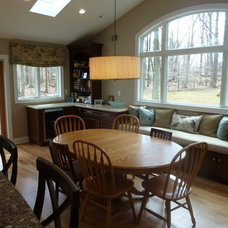 Traditional Dining Room by Skydell Contracting Inc.